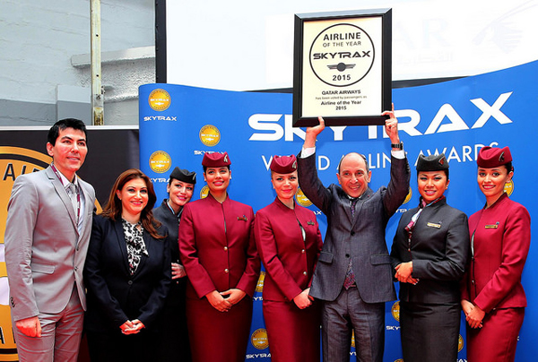 Qatar Airways wins 'Airline of The Year' honour at 2015