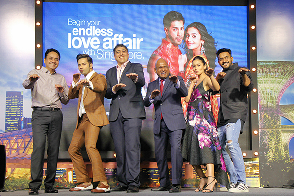Singapore Tourism Board associated with Badrinath Ki Dulhania movie last year