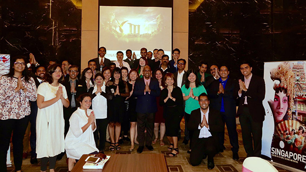Singapore Tourism Board's roadshow in India last year