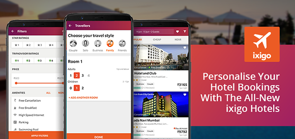 ixigo hotel booking revamped