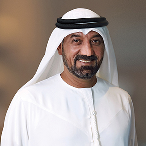 His Highness (H.H.) Sheikh Ahmed bin Saeed Al Maktoum, Chairman and Chief Executive, Emirates Airline and Group,