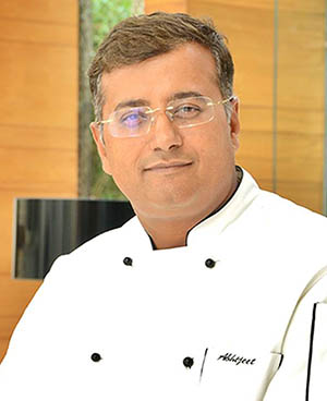 Abhijeet Thakre, Executive Chef