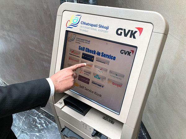 Check in kiosks