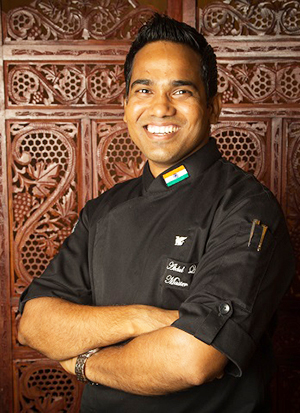 Chef Abdul Quddus, new Chef de Cuisine at Saffron
