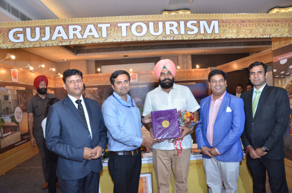 Shri Gurjeet Singh Aujla with Gujarat Tourism at India Travel Mart ITM 2019 Amritsar