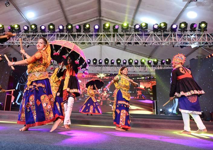 Paryatan Parv 2019 dancers