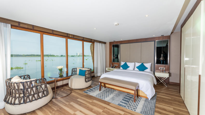 Grand Hyatt Kochi Bolgatty launches two-bedroom exquisite houseboat in Kochi Nattika 1